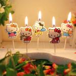 5-шт-набор-Kawaii-Мультфильм-детский-День-Рождения-Торт-Кекс-Ботворезы-День-Рождения-Свечи-Творческий-День