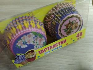 Тарталетки для кексов